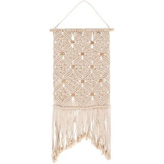 """Alteri Cotton and Pine 15"""" x 36"""" inch Bohemian/Global Tapestry"""