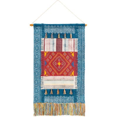 """Moyo Hand Woven Cotton, Polyester and Viscose 29"""" x 48"""" inch Bohemian/Global Tapestry - 29"""" x 48"""""""