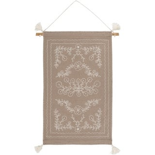 """Nathalie Wool and Nylon 24"""" x 36"""" inch Transitional Tapestry - 24"""" x 36"""""""