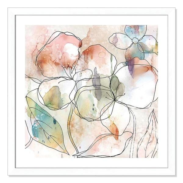 Floral Flow I - 33.5'' x 33.5''