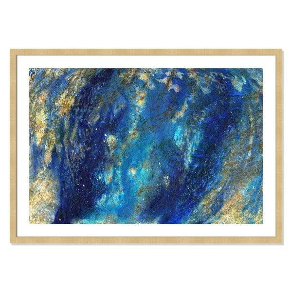 Cobalt Marble - 42'' x 30''