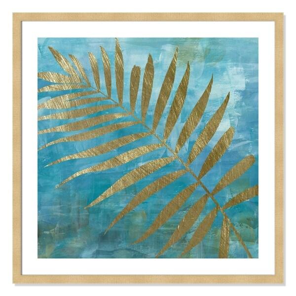 Golden Palm II - 32.5'' x 32.5''