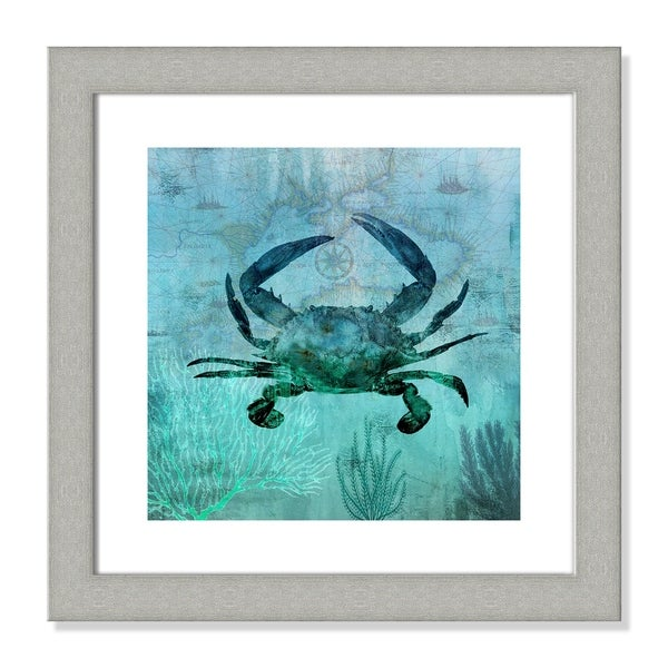 Pacific Crab - 18.5'' x 18.5''
