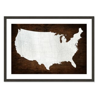 The United States of America - 36'' x 26''