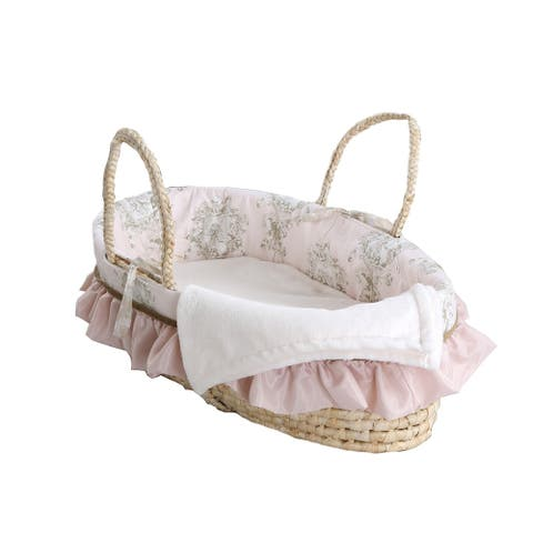 Lollipops & Roses Moses Basket
