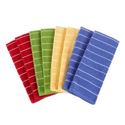 Porch & Den Midmar Patterned 8-piece Kitchen Towel Set