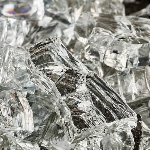 Original Indoor/Outdoor Firepit/Fireplace Glass (10 lbs.)