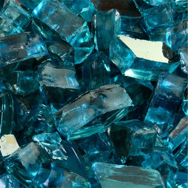 Original Fire Glass | Indoor and Outdoor Fire Pits or Fireplaces | 10 lbs. Opens flyout.