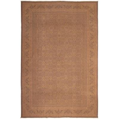Flat-weave Dynasty Brown Wool Sumak