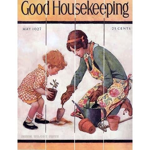 Wood Pallet Art - Good Housekeeping May 1927