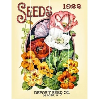 Wood Pallet Art - Deposit Seed Co