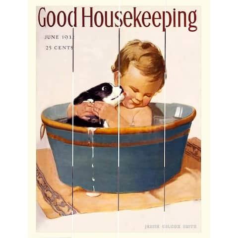 Wood Pallet Art - Good Housekeeping June 1932
