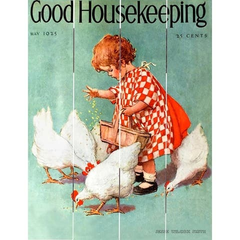 Wood Pallet Art - Good Housekeeping May 1925