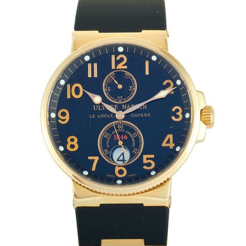 Ulysse Nardin Marine Chronometer Watch 266-66-3/62