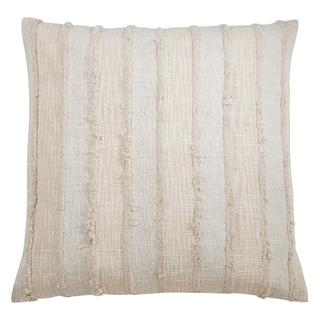 Fringe Stripe Throw Pillow