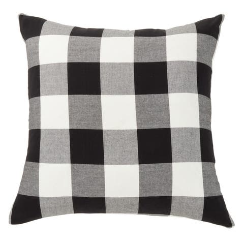 Classic Buffalo Plaid Floor Pillow