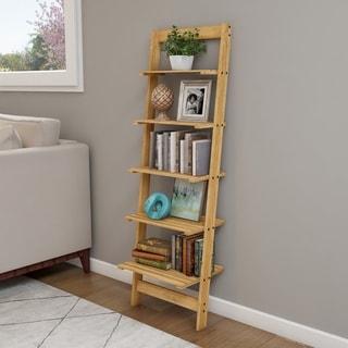 5-Tier Ladder Bookshelf by Lavish Home