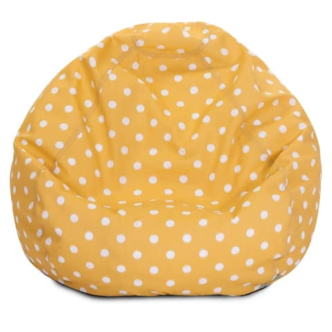 Ikat dot Shredded Foam Bean Bag Chair