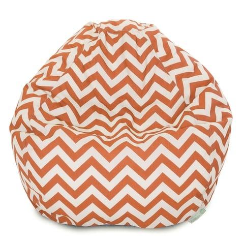 Chevron Shredded Foam Bean Bag Chair