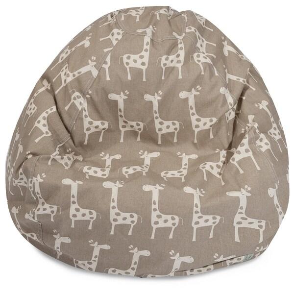 Stretch Shredded Foam Bean Bag Chair
