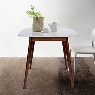 Link to Carson Carrington Tangby 31-inch Square Dining Table with Walnut Legs Similar Items in Dining Room & Bar Furniture