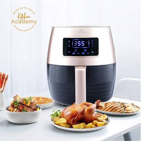 Kitchen Academy Air Fryer,5.8 Qt Electric Oilless Cooker