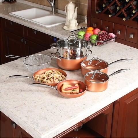 Kitchen Academy 10-piece Nonstick Induction Cookware Set