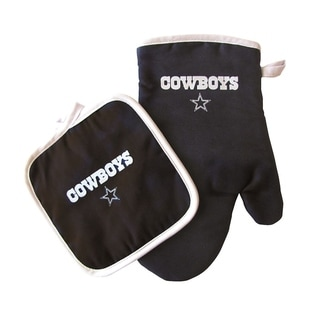 Link to NFL Dallas Cowboys Sports Team Logo Oven Mitt and Pot Holder Similar Items in Fan Shop