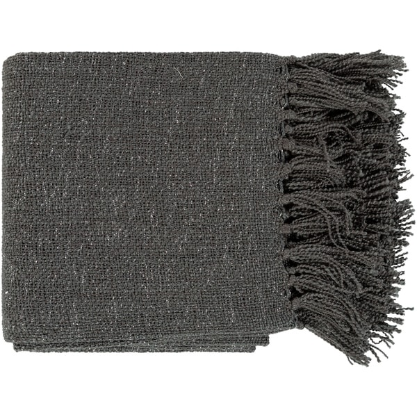 """Astrid Modern Woven 50"""" x 60"""" Acrylic-Blend Throw. Opens flyout."""