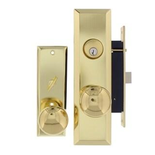 Gotham P8888RAK Brass Attached Mortise Lock