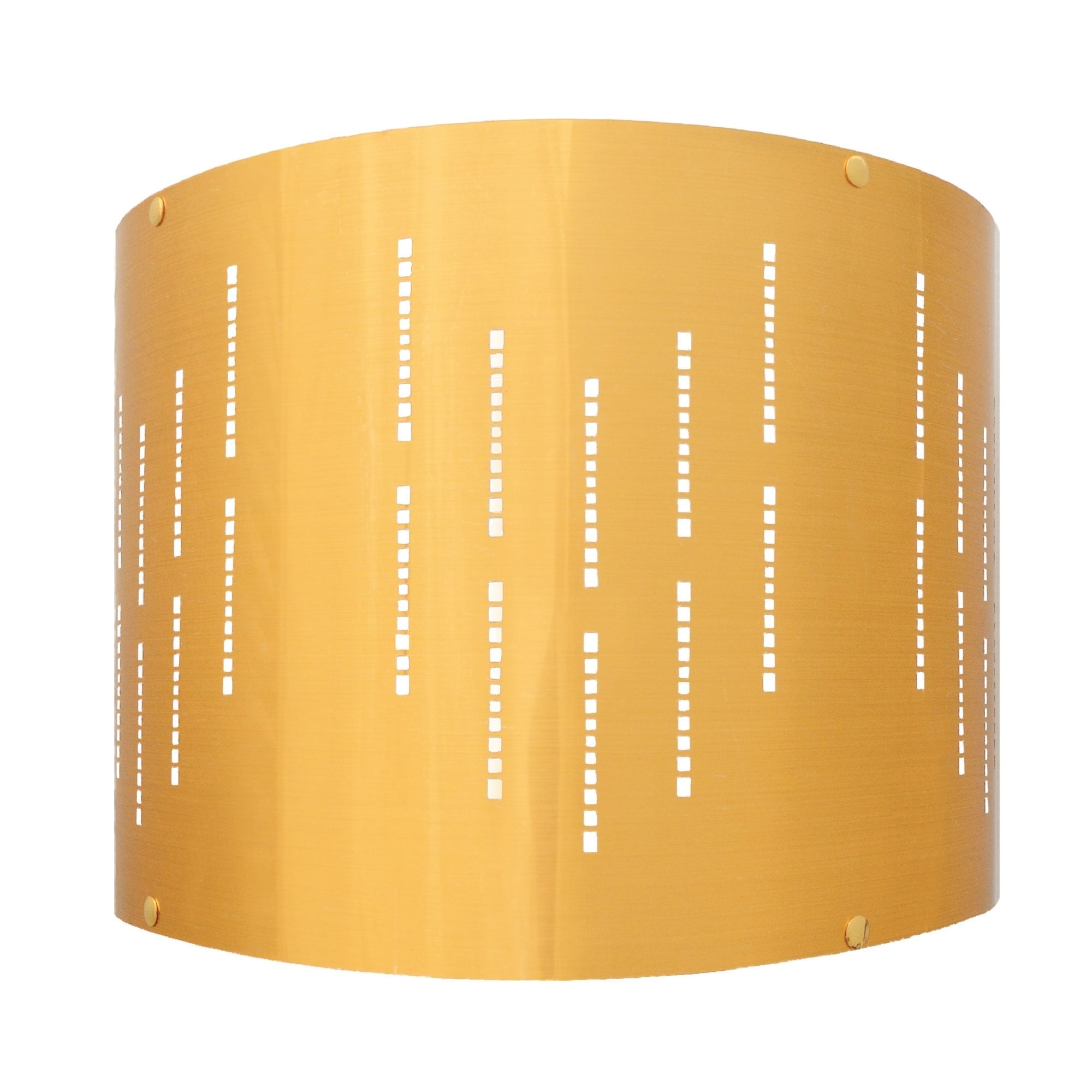Shop Royal Designs Inc Do It Yourself Diy Metallic Stencil Design Hardback Lamp Shade Polished Gold Finish 14 X 14 X 10 Overstock 29811525