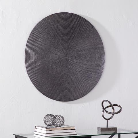 Carbon Loft Cadella Round Metal Wall Sculpture