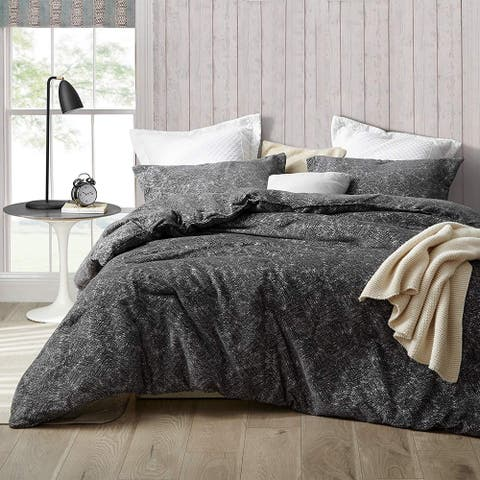 Lavishly Poetic - Jacquard Comforter Set with Curtains (2-Pack Panels)