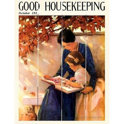 Wood Pallet Art - Good Housekeeping Oct 1921