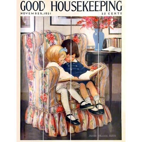 Wood Pallet Art - Good Housekeeping Nov 1921