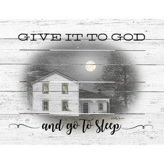 Wood Pallet Art - Give it to God