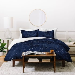 Link to Deny Designs Navy Night 3 Piece Duvet Cover Set Similar Items in Duvet Covers & Sets