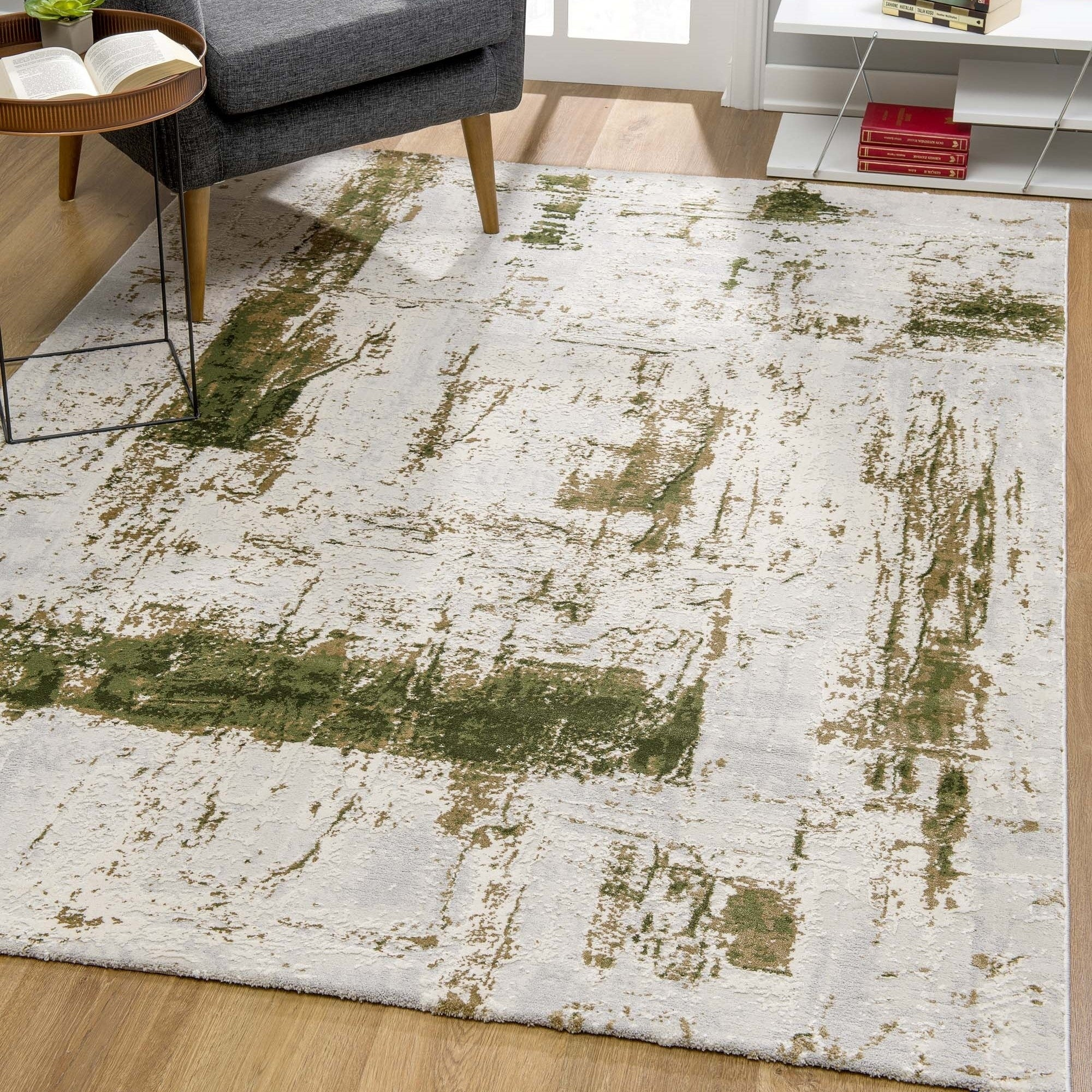 Rug Branch Vogue Modern Abstract Area Rug Green On Sale Overstock 29812619
