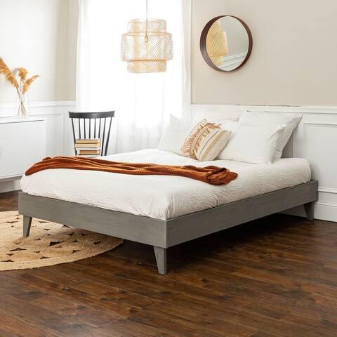 Porch & Den Solid Wood Platform Bed