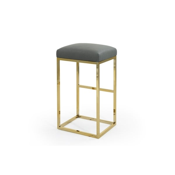 Chic Home Valerie PU Leather Upholstered Bar/Counter Stool - N/A. Opens flyout.