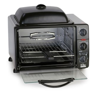 Link to Elite Platinum 0.8Cu. Ft. Multi-function Toaster Oven ERO-2008SZ Similar Items in Kitchen Appliances