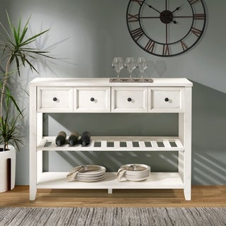 "The Gray Barn 48"" Solid Wood 2-Drawer Buffet - 48 x 16 x 36H"