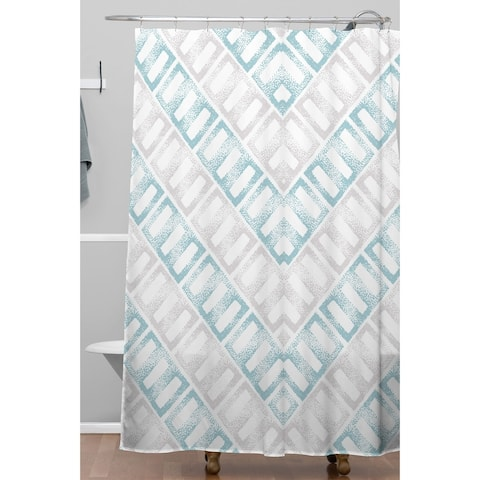 Deny Designs Pastel Abstract Arrow Shower Curtain
