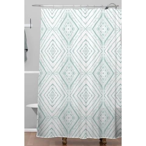 Deny Designs Dye Dash Diamond Shower Curtain