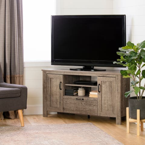 South Shore Lionel Corner TV Stand - N/A