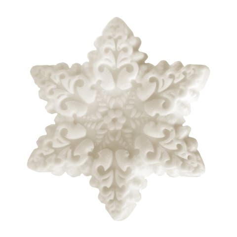 Handmade Snowflake Glycerin Soap