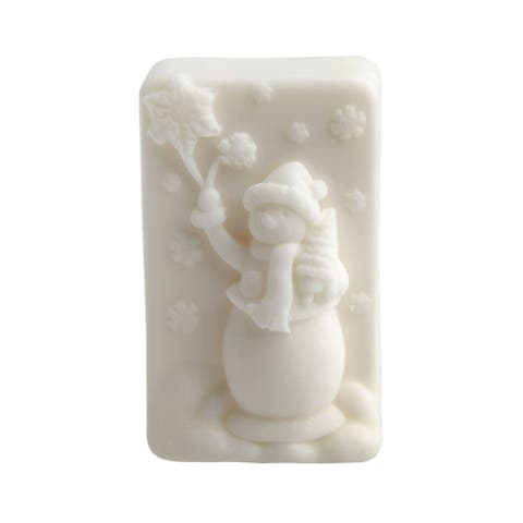 Handmade Snowman Glycerin Soap