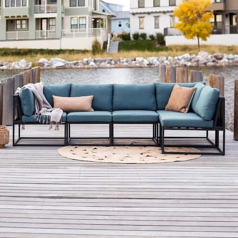5-Piece Outdoor Cord Modular Sectional by Havenside Home