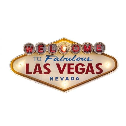 Welcome to Las Vegas Wall Décor