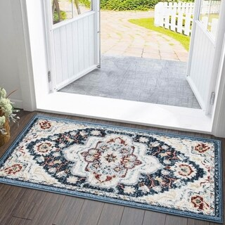 Transitional Carpet Rug Morocco Area Rugs for Indoor, Kitchen,Bathroom